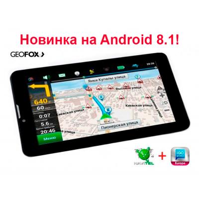 Автомобильный GPS-навигатор GeoFox MID 743GPS IPS ver. 2