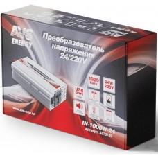 Автомобильный инвертор AVS Energy 24/220V IN-1000W-24