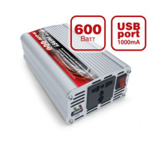 Автомобильный инвертор AVS Energy 24/220V IN-600W-24