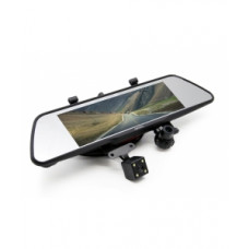 Видеорегистратор-зеркало Eplutus D83 (3 камеры + GPS-навигатор)