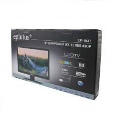 """Портативный телевизор Eplutus EP-193T 19"""" (с цифровым ТВ-тюнером DVB-T2 + DVB-C)"""