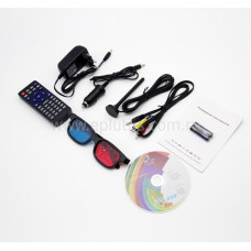 """Портативный DVD-плеер Eplutus EP-LS-105T 11"""" (с цифровым ТВ-тюнером DVB-T2)"""