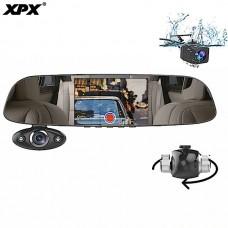 Видеорегистратор-зеркало XPX ZX816 (3 камеры)