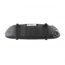 Видеорегистратор-зеркало XPX ZX858 (2 камеры + GPS-навигатор)