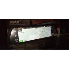 Видеорегистратор-зеркало XPX ZX969D (2 камеры + GPS-навигатор)